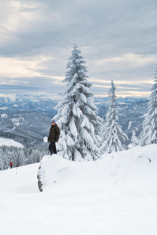 Tirolerkogel, Annaberghaus, Alpen, Wanderung, Wandern, Wanderweg, Winterwandaerung, Winterwandern, Schnee, Winterwald, Winterspaß, Spaß im Schnee