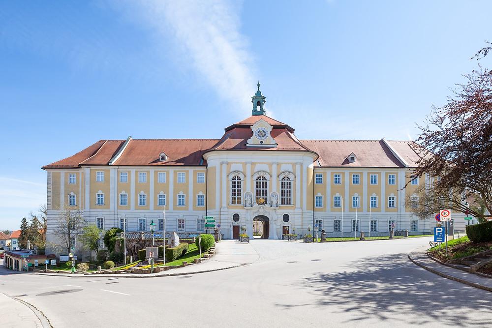 Stift Seitenstetten, Mostviertel, Niederösterreich, Kloster, Stift, Kirche, Ausflug, Wandern