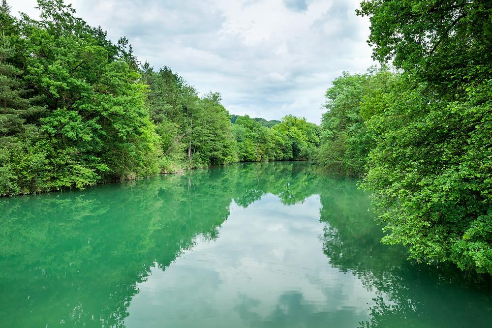 Erlaufschlucht, Erlauf, Purgstall, Mostviertel, Klamm, Schlucht, wandern, Wanderung, Ausflug, Niederösterreich, grüner Fluss, grünes Wasser