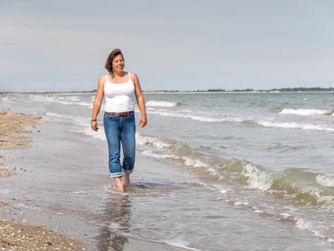 Italien - Venedig: der Strand der Lagunenstadt, der Lido di Venezia