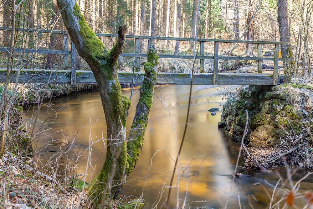 Brücke, Kamp, Kamptal, Waldviertel, Niederösterreich, Wandern, Wanderung