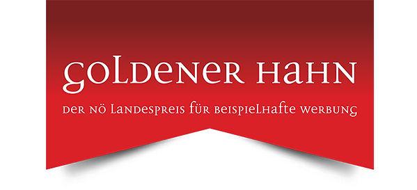 Logo Goldener Hahn Werbepreis