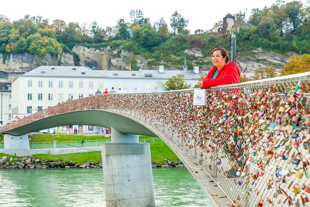 Markantsteg, Salzburg, Salzburg Altstadt, Mozartstadt, Kurzurlaub, Stadtwandern, Stadtwanderung, Besichtigung, Sightseeing, Kulturrundgang, Sehenswürdigkeiten, Spaziergang,