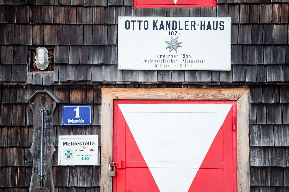 Otto-Kandler-Haus, Berghütte, Hohenstein, Pielachtal, Mostviertel, Niederösterreich, Wandern, Wanderung, Bergwandern
