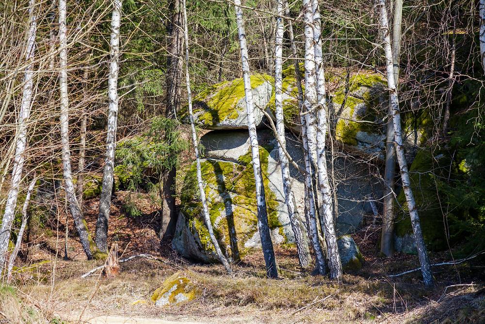 Granit, Wackelstein, Waldviertel, Steine, Wandern, Wanderung, Niederösterreich