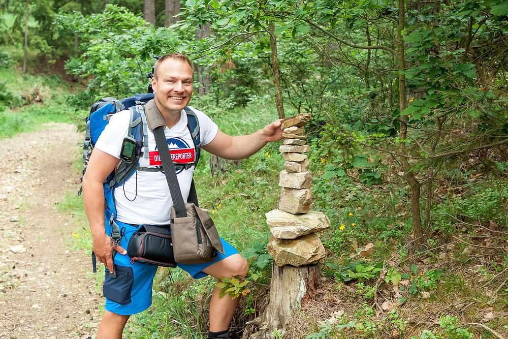 Gerald Lechner, die reisereporter, Kamp, Kamptal, Steinegg, Ödes Schloss, Wandern, Wanderung, Ausflug, Waldviertel, Niederösterreich