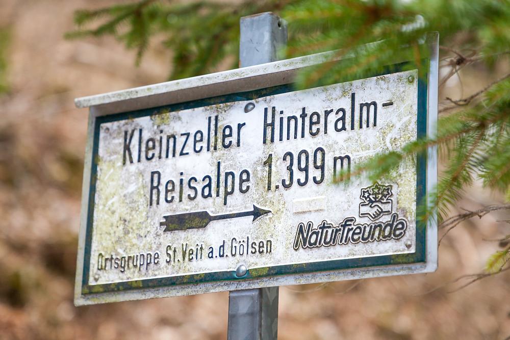Hinteralm, Kleinzeller Hinteralm, Gutensteiner Alpen, Alpenvorland, Schindeltal, Niederösterreich, Wandern, Wanderung, Bergwandern, Wandermarkierung