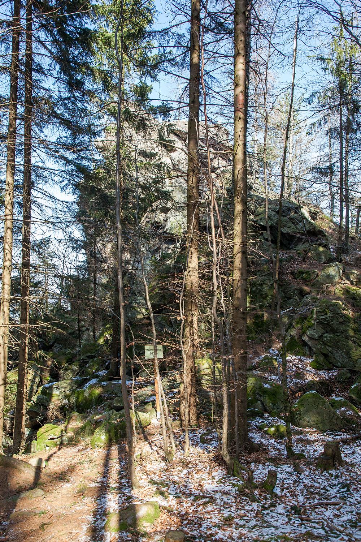 Katzenstein, Peilstein, Waldviertel, Niederösterreich, Wandern, Wanderung, Felsen, Granit, Wackelstein