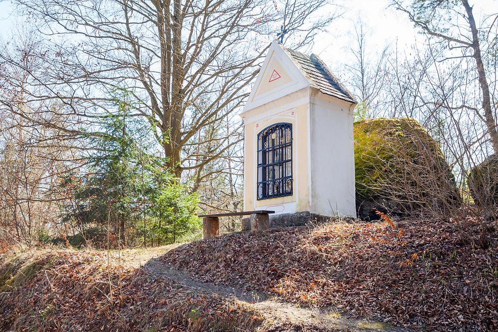 Marterl, Kleindenkmal, Kapelle, Kamptal, Rappottenstein, Niederösterreich, Waldviertel, Wandern, Wanderung