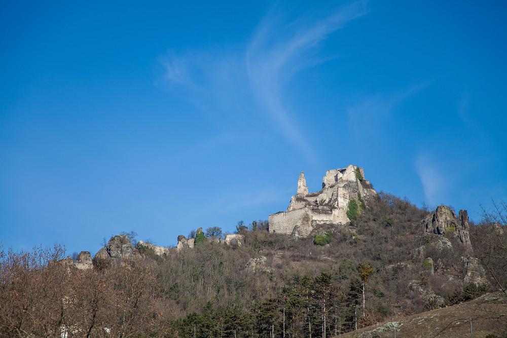 Ruine Dürnstein, Dürnstein, Wachau, Niederösterreich, Wandern, Wanderung, Wanderweg, Steig, Vogelbergsteig, König Richard Löwenherz, Blondel
