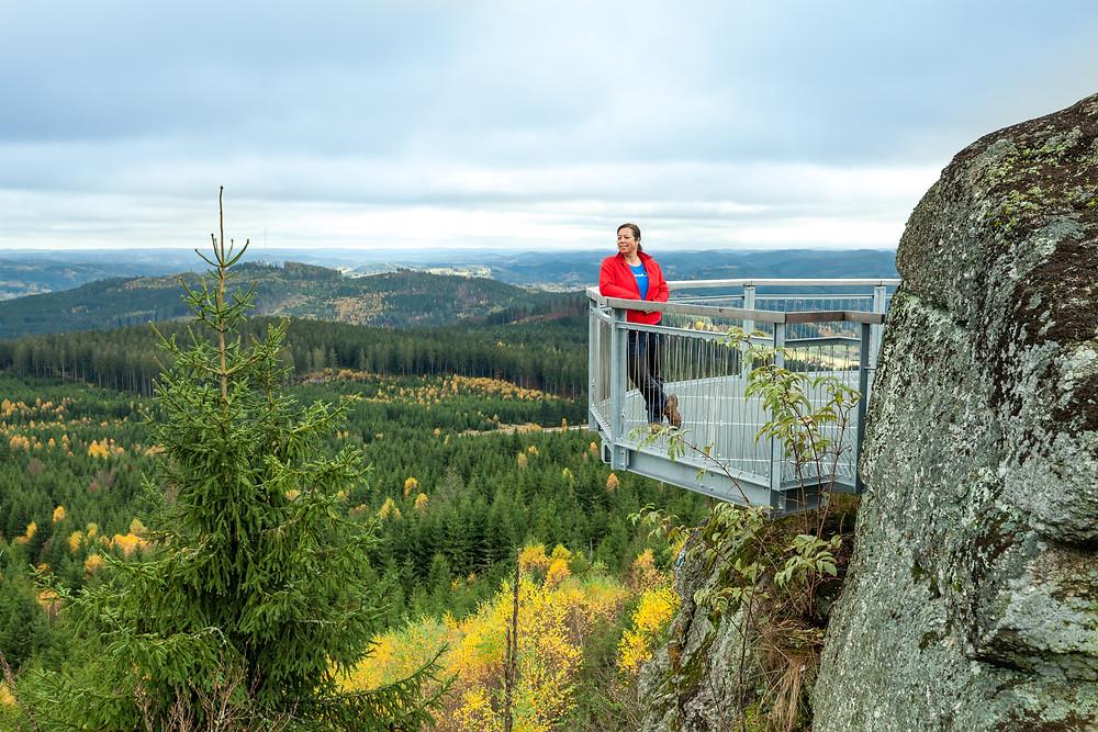 Nebelstein, Waldviertel, wandern, Wanderung, Niederösterreich, Wanderurlaub, Wanderreise, Herbst, Wald, die reisereporter, Sonja Lechner