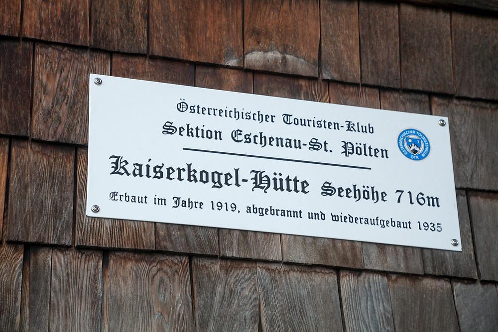Kaiserkogel, Eschenau, Pielachtal, Traisental, Alpenvorland, Niederösterreich, Wandern, Wanderung, Winterwandern, Winterwanderung, Kaiserkogelhütte