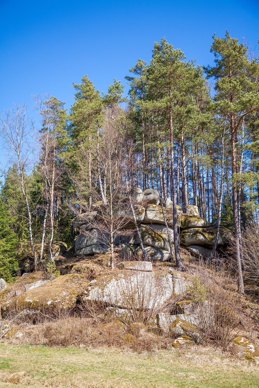 Waldviertel, Granit, Steinformationen, Felsen, Wandern; Wanderung