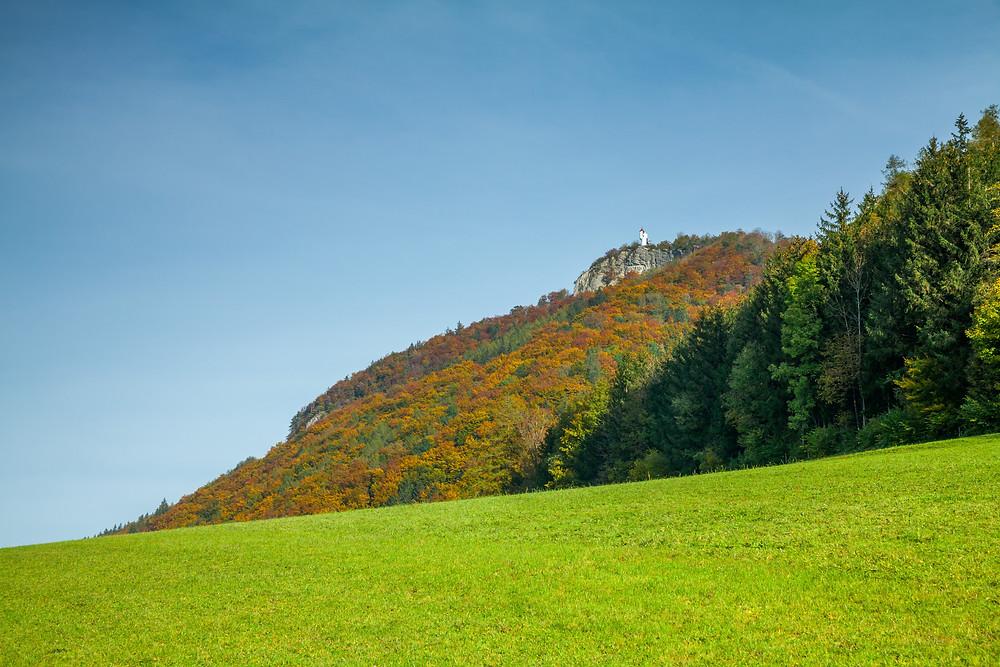 Urlingerwarte, Blassenstein, Scheibbs, Mostviertel, Niederösterreich, Wandern, Wanderung, Herbst
