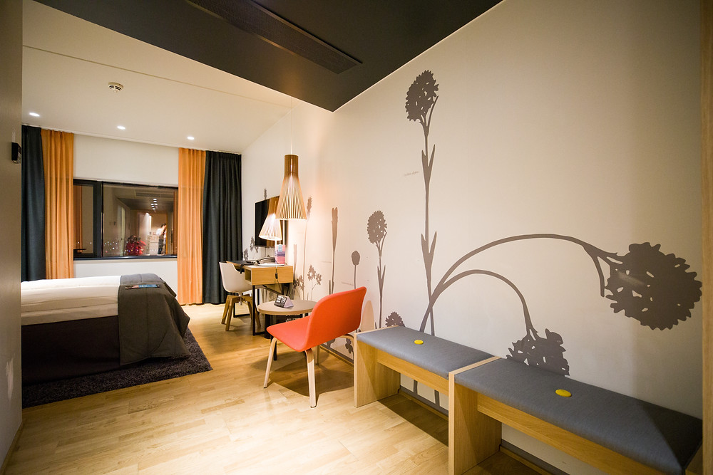 Doppelzimmer im Hotel Clarion the edge in Tromsö
