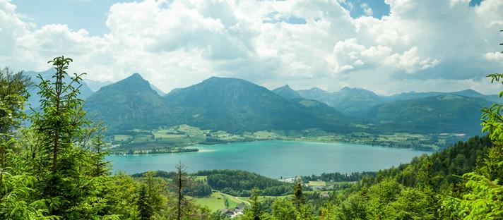 Wandern Wolfgangsee: Rundtour vom Wolfgangsee zum Schwarzensee