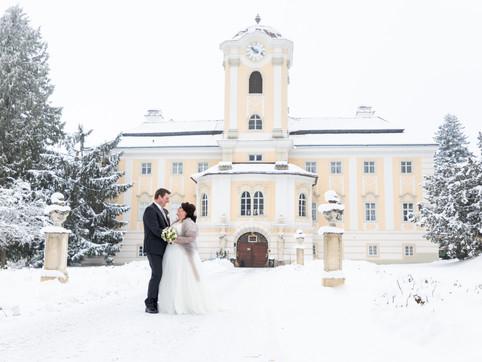 Winterhochzeit auf Schloss Rosenau