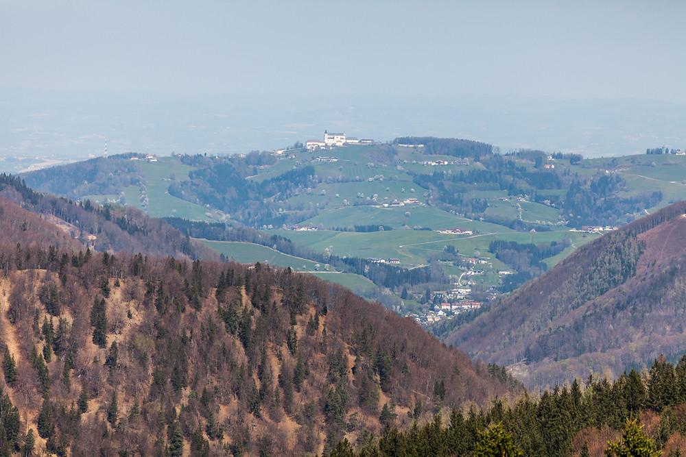 Sonntagberg, Mostviertel, Niederösterreich, Kirche, Ausblick, Wandern, Wanderung