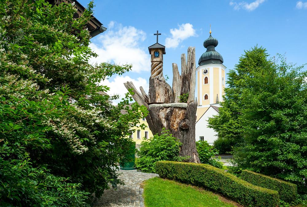 Mohnleutweg, Mohndorf, Armschlag, Mohnfelder, Mohnblüte, Waldviertel, Wald4tel, Niederösterreich, Wandern, Wanderung, Ausflug, Sallingberg, Kirche, Marterl