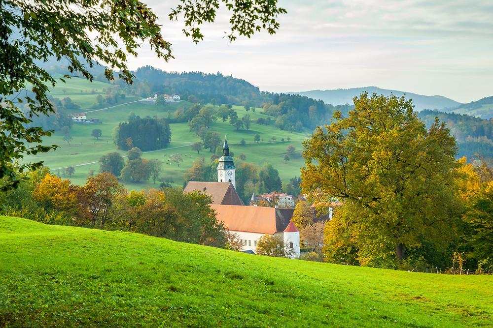 Scheibbs, Mostviertel, Niederösterreich, Wandern, Wanderung, Herbst