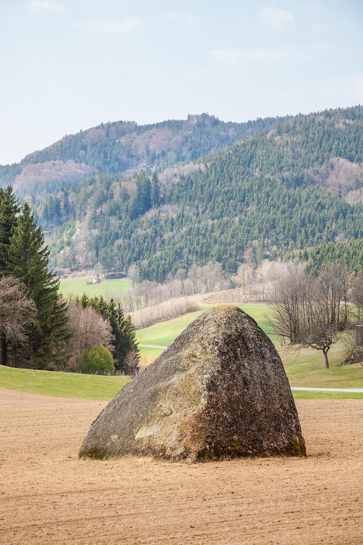 Steinerne Kornmandl, Granit, Restling, Kalenderstein, Waldviertel, Niederösterreich, Wandern, Wanderung