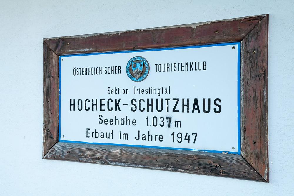 Hocheck, Wienerwald, Niederösterreich, Altenmarkt an der Triesting, wandern, Wanderung, Wandertipp, Herbst, Herbstwanderung, Bergtour, Bergwanderung, Hockeck-Schutzhaus