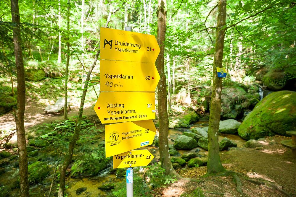 Ysperklamm, Ysper, Klamm, Waldviertel, Niederösterreich, Wandern, Wanderung, Ausflug