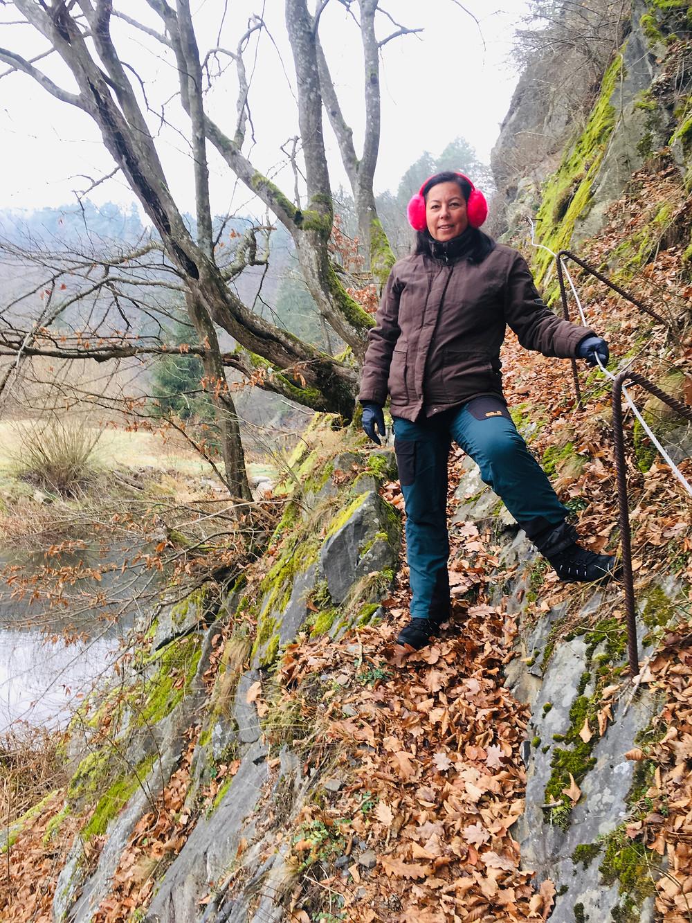Krumau am Kamp, Waldviertel, Niederösterreich, Wandern, Wanderung, Winterwandern, Steig
