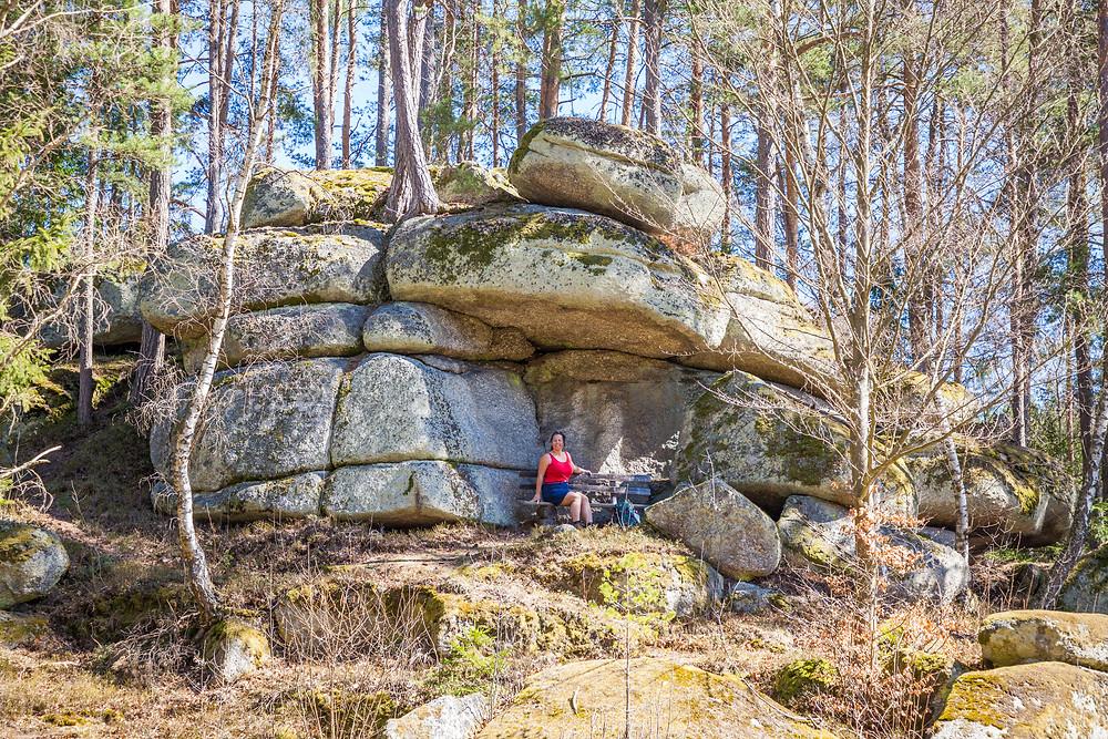 Dachstein, Waldviertel, Felsformation, Felsen, Steine, Granit, Niederösterreich, Wandern, Wanderung