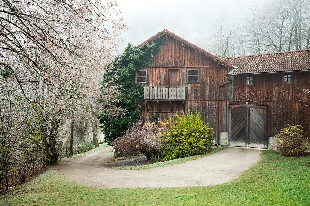 Kaiserkogel, Eschenau, Pielachtal, Traisental, Alpenvorland, Niederösterreich, Wandern, Wanderung, Winterwandern, Winterwanderung, Bauernhof, Bauernhaus