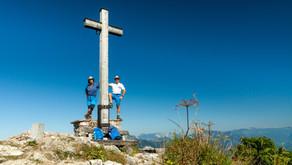 Wandern Wolfgangsee: auf dem Zwölferhorn über die Pillsteinhöhe zur Illingerbergalm und retour