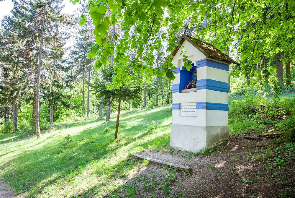 Fuxbauer Kapelle, Kapelle, Kleinmariazell, 3-Kirchen-Weg, Wienerwald, Hafnerberg, Wandern, Wandertipp, Ausflug, Via Sacra, Wienerwald, Niederösterreich
