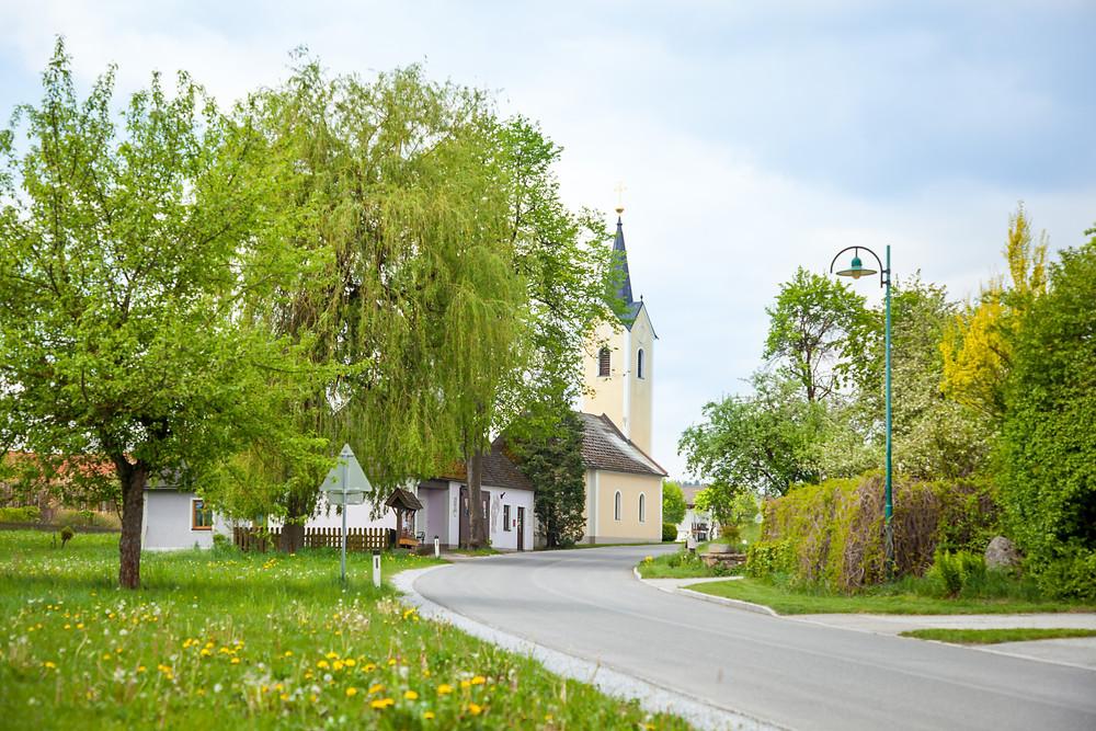 Aubergwarte, Sonnentor, Kräuterwanderweg, Tutgut-Wanderweg, Sprögnitz, Waldviertel, Wald4tel, Niederösterreich, Wandern, Wandertipp, Ausflug, Kirche, Kapelle
