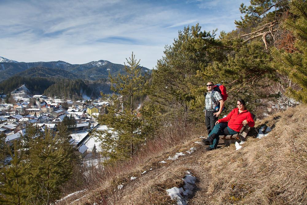 Zdarskyhütte, St. Aegyd, Voralpen, Niederösterreich, Wancurasteig, Steig, Winterwandern, Wandern, Wanderung