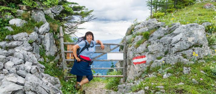 Wandern Alpen: von St. Aegyd/Zögernitz auf den Gippel über den Treibsteig in Niederösterreich