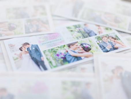 Ganz Frisch! Die neuen Flyer für die Hochzeitsmessen sind da!