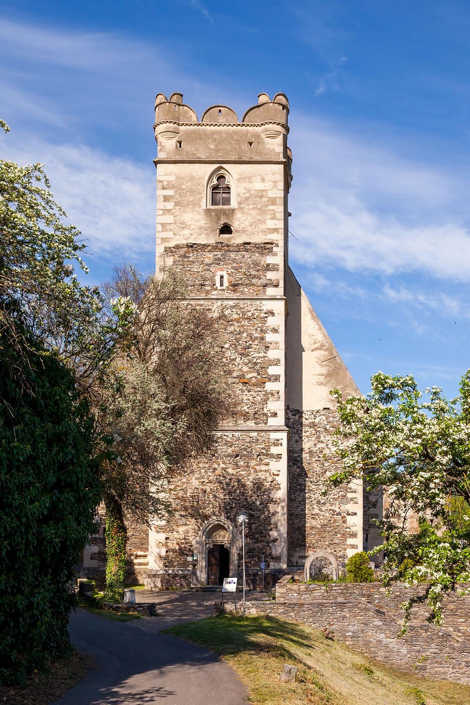 Sankt Michael, Kirche, Sage, Hasen, Wachau, Höhenweg, Wandern, Wandertipp, Niederösterreich