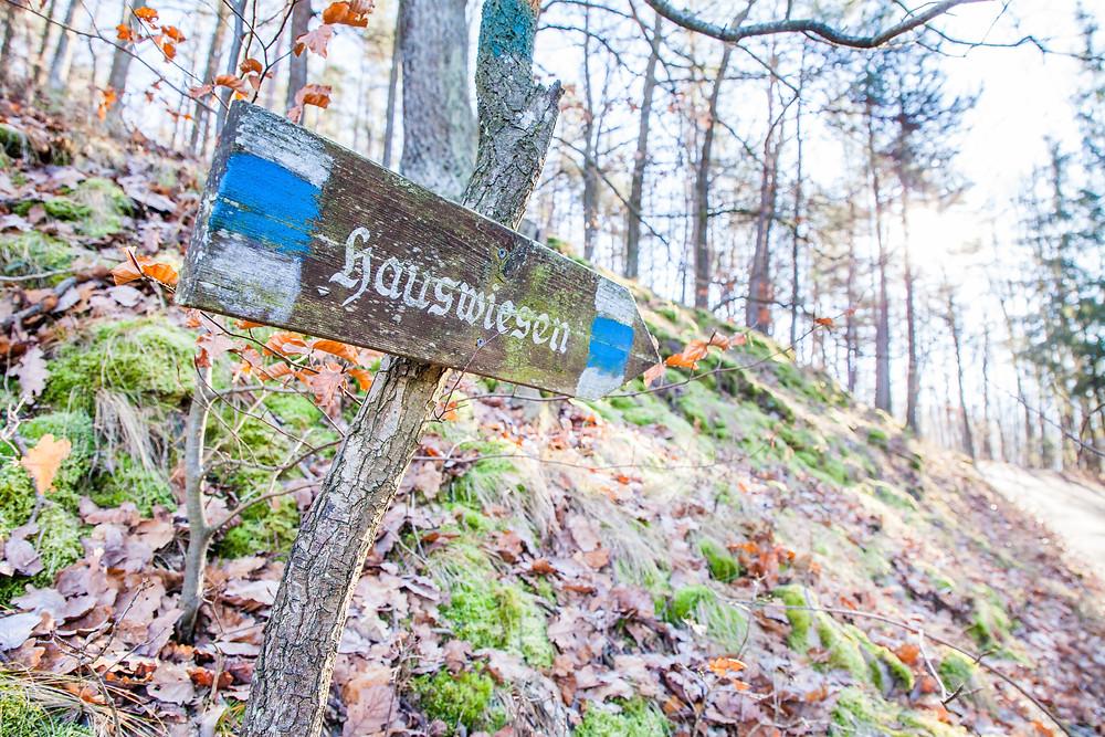 Wandermarkierung, Wanderweg, Wandern, Wachau, Wanderung, Spitz, Donau, Winterwandern, Niederösterreich
