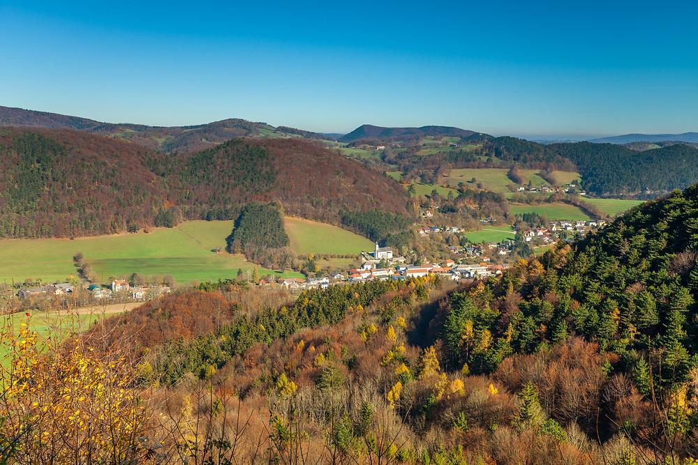 Hocheck, Wienerwald, Niederösterreich, Altenmarkt an der Triesting, wandern, Wanderung, Wandertipp, Herbst, Herbstwanderung, Bergtour, Bergwanderung