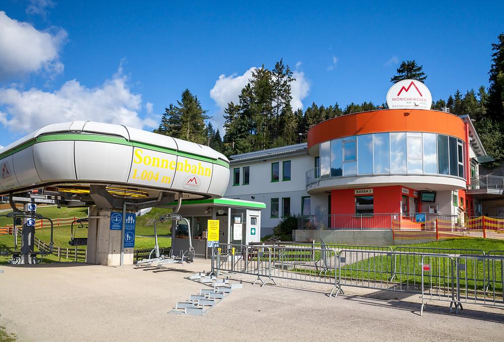 Mönichkirchen, Schischaukel Mönichkirchen, Sonnenlift, Wechsel, Hochwechsel, Niederwechsel, Wiener Alpen, Rollerbahn, Sessellift