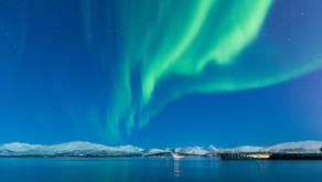 Norwegen: Nordlichter in Telegrafbukta nahe Tromsö