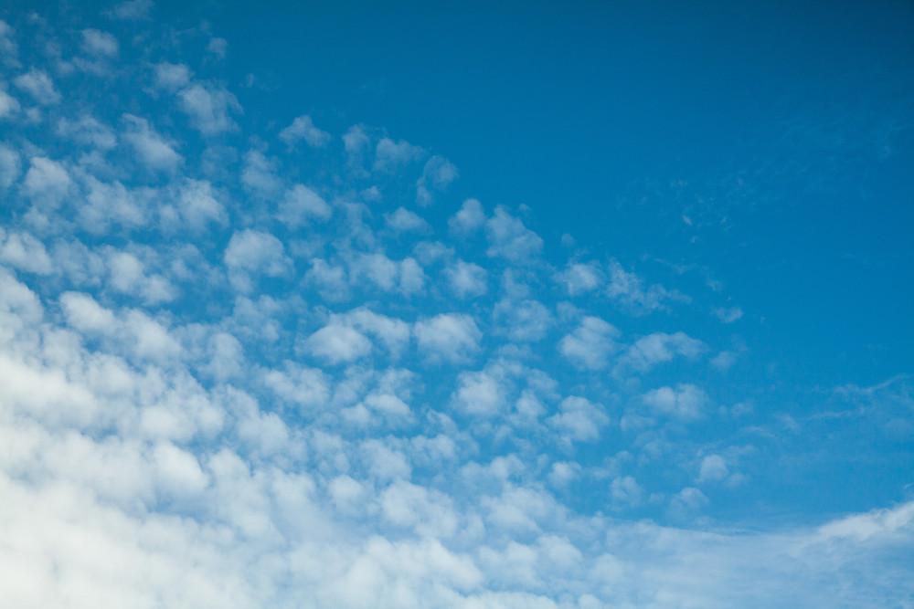 Himmel, Schäfchenwolken, Wolken