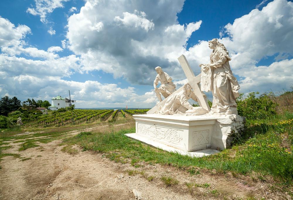 Kreuzweg, Retz, Retzer Windmühle, Windmühle, Weinviertel, Retzer Land, Wenzelsteg, Wandern, Wanderung, Ausflug, Niederösterreich
