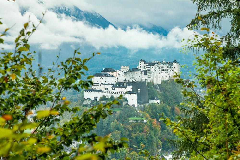 Salzburg, Kapuzinerberg, Altstadt. Mozartstadt, Stadtwandern, Stadtwanderung, Sightseeing, Stadtbesichtigung, Sehenswürdigkeiten, Festung Hohensalzburg,