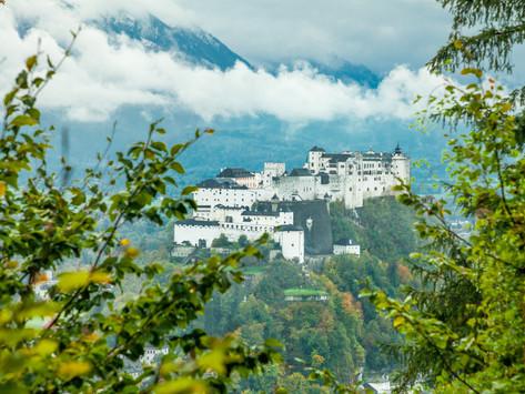 Städtereise Salzburg: Über den Dächern der Stadt, die Kapuzinerberg-Runde - in Österreich