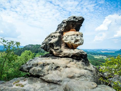 Deutschland - Sächsische Schweiz - Papststein und Gohrisch - eine Rundwanderung