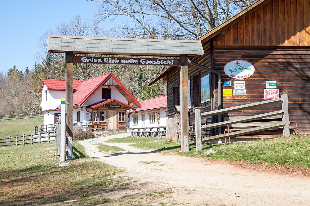 Josef-Franz-Hütte, Almhütte, Berghütte, Naturfreunde, Rabenstein, Pielachtal, Mostviertel, Niederösterreich, Wandern, Wanderung