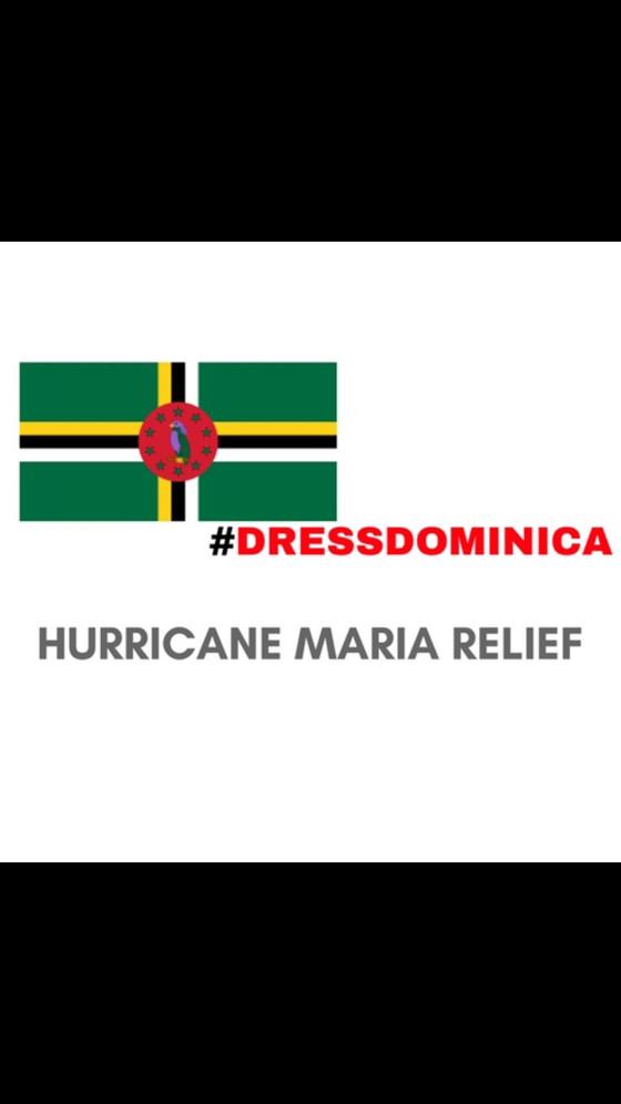 #DressDominica: Hurricane Maria Relief