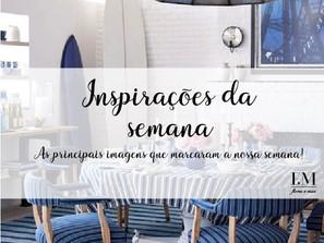 Inspirações da semana: Sala de Jantar com Azul
