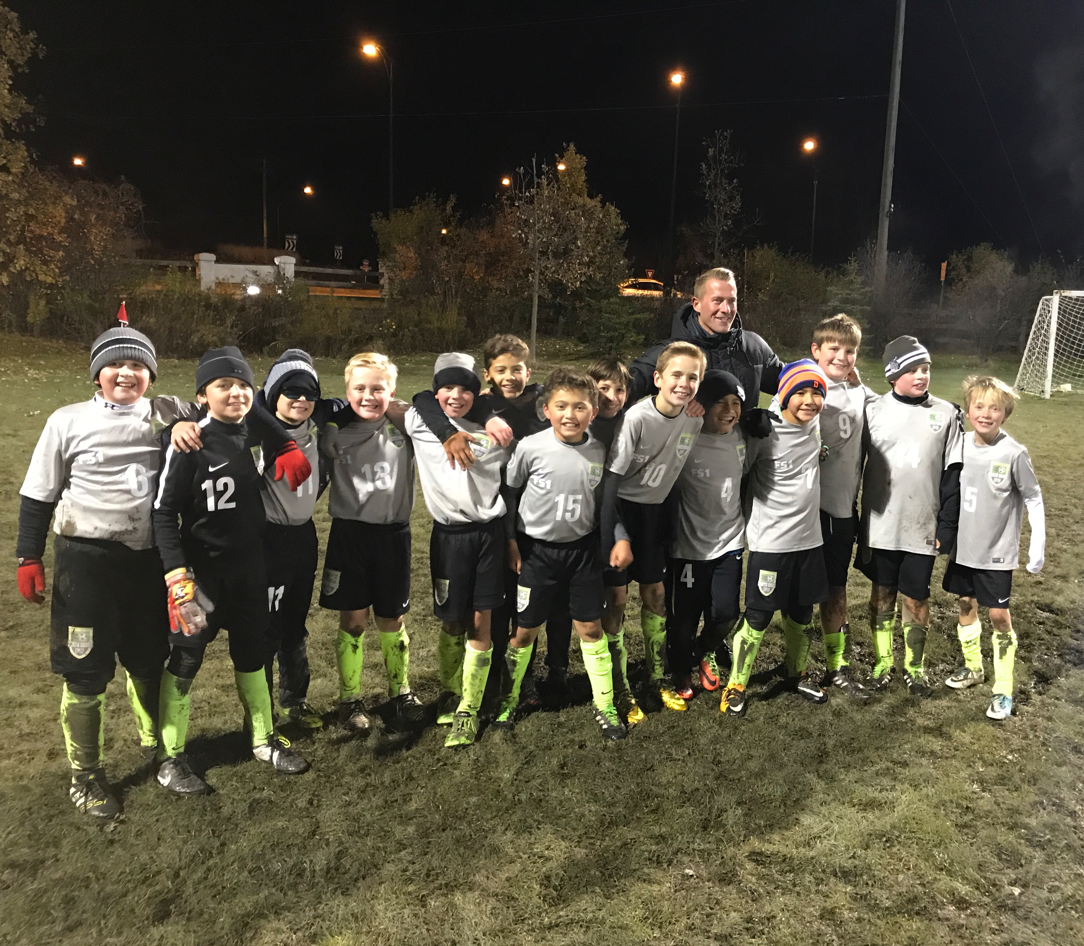 U11 Boys Fall Division Champions